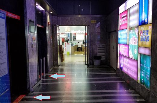 Front entrance elevators