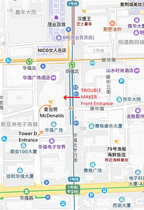 Huaqiangbei Metro Map Full